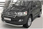 Защита переднего бампера (одинарная, D76) для Toyota Land Cruiser 200 2015+ (Can-Otomotiv, TOC2.33.1501)
