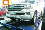 Защита переднего бампера (волна, D76/60) для Toyota Land Cruiser 200 2015+ (Can-Otomotiv, TOC2.33.3382)