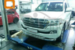 Защита переднего бампера (двойная, D76/60) для Toyota Land Cruiser 200 2015+ (Can-Otomotiv, TOC2.33.3383)