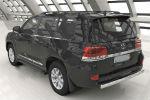 Защита заднего бампера (овал, D75/42) для Toyota Land Cruiser 200 2012-2015 (Can-Otomotiv, TOC2.55.1206)
