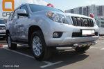 Защита переднего бампера (Shark, D70) для Toyota Land Cruiser 150 2009-2013 (Can-Otomotiv, TOC5.33.3381)