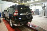 Защита заднего бампера (уголки, D70/42) для Toyota Land Cruiser 150 2009+ (Can-Otomotiv, TOC5.53.3399)