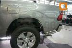 Защита заднего бампера (уголки, D76) для Toyota Hilux 2015+ (Can-Otomotiv, TOHI.53.4156)