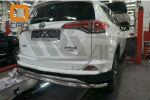 Защита заднего бампера (одинарная, D60) для Toyota RAV 4 2016+ (Can-Otomotiv, TOR4.55.3573)