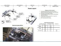 Защита заднего бампера (уголки, D76/60) для Volkswagen Amarok 2010+ (Can-Otomotiv, VWAM.53.1024)