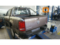 Защита кузова (с решеткой) для Volkswagen Amarok 2009+ (Can-Otomotiv, VWAM.67.1021)