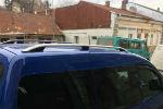 Алюминиевые рейлинги на крышу (skyport) для VW Caddy 2004-2015 (Erkul, WCRRL.06)