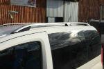 Алюминиевые рейлинги на крышу (skyport) для Peugeot Bipper 2008+ (Erkul, PBRRL.06)