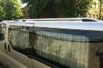 Алюминиевые рейлинги на крышу (skyport) для Nissan Primastar 2002-2015 (Erkul, NPRRL.06)