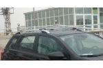 Алюминиевые рейлинги на крышу (skyport) для Nissan Qashqai 2007-2014 (Erkul, NQRRL.06)