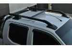 Оригинальные рейлинги на крышу (с поперечинами) для Nissan Navara 2006+ (Can-Otomotive, NVRRL.SH)