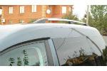 Алюминиевые рейлинги на крышу (пластиковые ножки) для VW Touareg 2003-2011 (Erkul, WTGRRL.02)