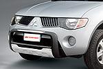 Дуга передняя Toyota Fortuner 2005- низкая, пластик (Carryboy, СВ721)