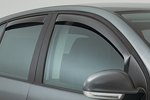 Ветровики (дефлекторы окон) для Chevrolet Cruze 5D 2011- (Climair, CLI0033666/CLI0044369)