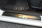 Накладки на внутренние пороги (нерж.) для KIA Ceed 2012- (Nata-Niko, P-KI20)