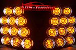 Светодиодные повторители поворотов в штатную оптику Chevrolet Cruze (KAI, CHCR-FTS.01)