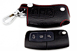 Чехол для ключей Ford Fiesta, Focus II, Mondeo, C-Max, S-Max (BGT-LKH508-F)