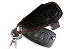 Чехол для ключей Ford Focus III, Mondeo, C-Max, S-Max, Galaxy (BGT-LKH807-F)