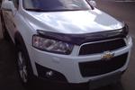 Дефлектор капота (темный) для Chevrolet Captiva 2011- (EGR, 15091)