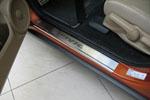 Накладки на внутренние пороги (нерж.) для Honda Civic VIII 5D 2006-2011 (Nata-Niko, P-HO11)