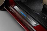 Накладки на пороги с подсветкой OEM Honda Civic 4d 2012- (JMT, HDCVC12.LED0112)