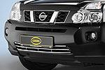Решетка в бампер Nissan X-Trail T31 2007- (Cobra, NIS1675)