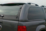 Рейлинги алюминиевые Crown (Canopy Hardtop) для Volkswagen Amarok 2011- (Can-Otomotive, VWAM.RRS.OR.KI)