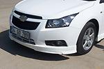 Юбка переднего бампера Chevrolet Cruze (AD-Tuning, CHCR-FSK-001)