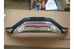 Накладки на передний и задний бампер для Honda CR-V 2012+ (Kindle, CRV-B27-28)