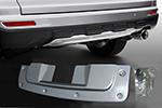 Накладка на задний бампер Honda CRV 2010-2012 (For, CRV100504)