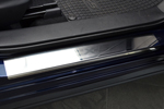 Накладки на внутренние пороги (нерж.) для Mazda CX-5 2012- (Nata-Niko, P-MA11)