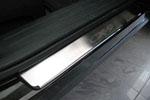 Накладки на внутренние пороги (нерж.) для Mazda CX-9 2007- (Nata-Niko, P-MA02)