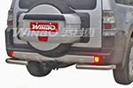 Защита заднего бампера «углы» Mitsubishi Pajero 2007- (Winbo, D126211)
