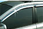 "Дефлекторы окон ""ХРОМ"" Chevrolet Lacetti  (AUTOCLOVER, AC A414)"