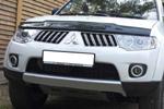 Дефлектор капота Mitsubishi Pajero Sport 2008- (EGR, 26181)