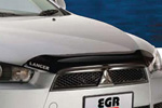 Дефлектор капота Mitsubishi Lancer X SportBack 2007- (EGR)