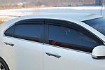 "Дефлекторы окон ""Mugen Style"" Honda Accord 2008- (BGT Pro)"