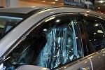 Дефлекторы окон Honda CR-V 2007- (BGT Pro)