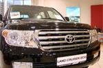 Дефлектор капота Toyota LAND CRUISER 200 (EGR, 39231)