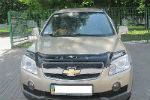 Дефлектор капота для Chevrolet Captiva 2006-2011 (VIP, CH03)