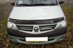 Дефлектор капота для Renault Logan 2005-2012 (VIP, RL01)