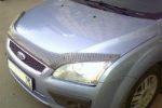 Дефлектор капота для Ford Focus II 2005-2008 (SIM, SFOFO20513)