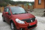 Дефлектор капота для Suzuki SX4/Fiat Sedici 2007+ (SIM, SSZSX40712)