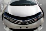 Дефлектор капота для Toyota Corolla 2013+ (SIM, STOCOR1312)