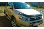 Дефлектор капота для Toyota RAV-4 2006-2009 (SIM, STORAV0612)