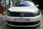 Дефлектор капота для Volkswagen Golf VI 2009-2012 (SIM, SVOGOL0912)