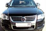 Дефлектор капота для Volkswagen Touareg 2003-2010 (SIM, SVOTOU0312)
