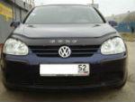 Дефлектор капота для Volkswagen Golf V 2003-2008 (VIP, VW13)
