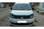 Дефлектор капота для Volkswagen Caddy 2010+ (VIP, VW38)
