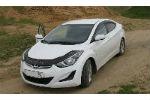 Дефлектор капота (длинный) для Hyundai Elantra 2011+ (VIP, HYD25)